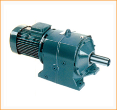 Co Axial Helical Geared Motor Coaxial Helical Geared Motors Double Reduction Speed Reducer